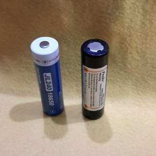 18650 Batteries ( Fenix  &  Jetbeam  m 2600 mAh)