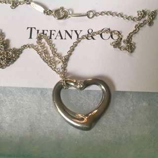 Tiffany & Co Diamond Heart Necklace