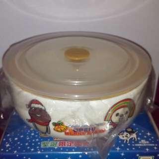 🚚 OPEN將聖誕限定陶瓷保鮮碗
