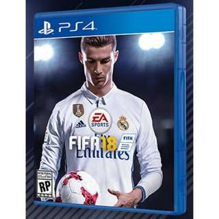 FIFA 18 user copy for PS4