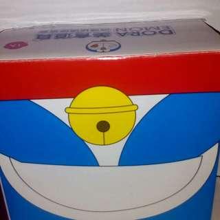 哆啦A夢微波玻璃便當盒