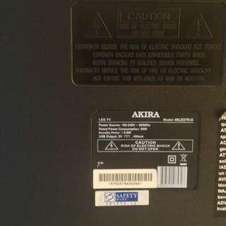 Akira 49 LCD TV