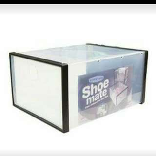Shoe Box Organizer (Plastic) / Shoe Mate