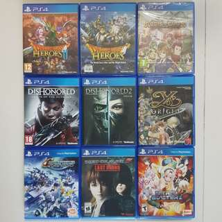 Sell All My PS4 Games