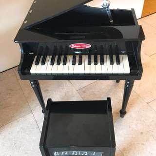 Preloved Melissa & Doug Black Piano