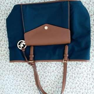 Michael Kors Tote Bag in Navy Blue