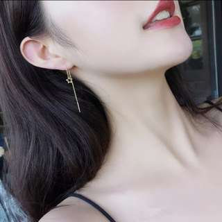 Star ear ring