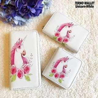 Unicorn Terno Wallet Set
