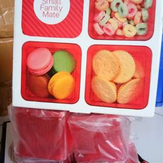 Tupperware  small family mate *4