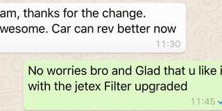 This time round another Volvo V60 Upgrades jetex high flow performance drop in air Filter with 99% filtration at 2.8 microns washable and reusable ..