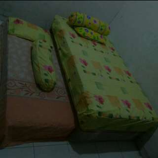 Spring Bed Susun Guhdo Double Spring Bed