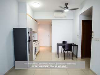 2 Bedroom near city for rent