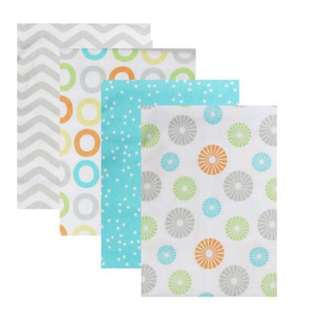 Luvable Friends: Blanket - Flannel Receiving Blanket ( 4pcs ) ( 40118 )