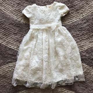 Lace Party dress 5/6 tahun