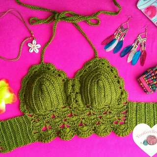 Made to Order crochet top