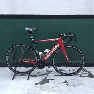 Cervelo S3 with Bell Star Pro