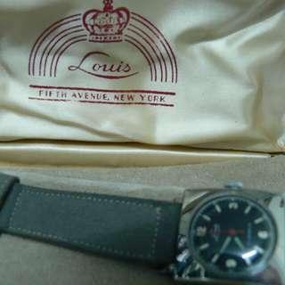 古老Louis罁,上鍊手表