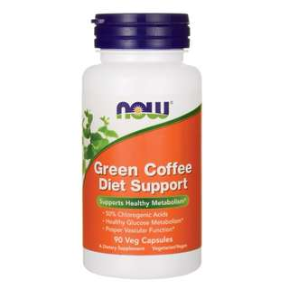 (USGMP) NWF1152 Now Foods Green Coffee Diet Support 400mg 90 Caps 青咖啡豆精華