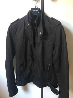 Utility Style Jacket in Black
