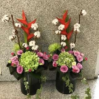 Weekly fresh flowers