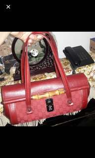 Gucci Bamboo Red