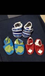 Take all 3 shoes for babies upto 5months