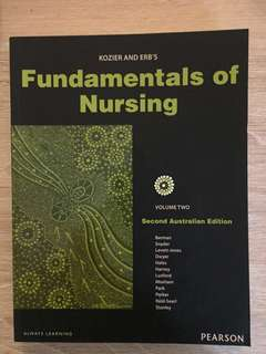 Bachelor of Nursing textbooks