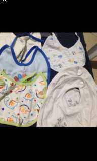 Take all baby bibs mix of new and slightly used