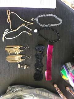 Accessories $10 for all