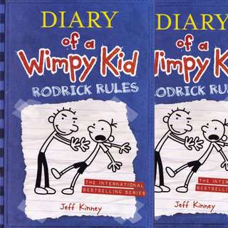 Diary of a wimpy Kid Rodrick Rules by Jeff Kinney