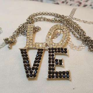 Love Long Necklace On Sale