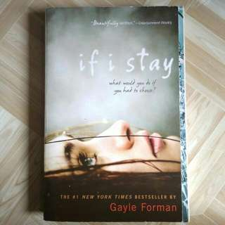 If I Stay (English) by Gayle Forman