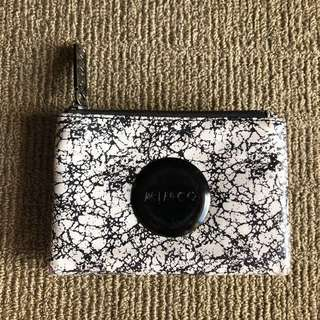 MIMCO black and white wallet