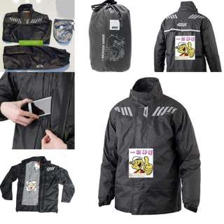 1803*** Givi Raincoat RRS04 Black & Red 🤣🤣Thanks To All My Buyer Support 👌👌