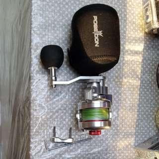 Fishing reel - poseidon 150l mini lefty