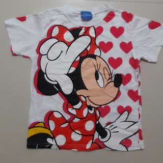 Tokyo Disneyland Minnie Mouse Tshirt for 7-8 yrs old