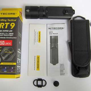 (Last piece)Nitecore SRT9 flashlight($120 each)