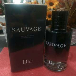 Authentic Sauvage by Dior 100ml