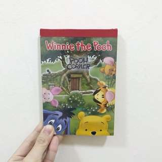 Winnie The Pooh Notepad Writing Paper A6 Size