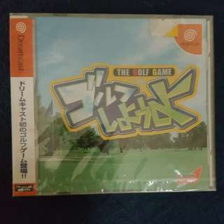 THE GOLF GAME(Dreamcast Game)