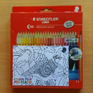 Staedtler Luna 48 Water Colour Pencils