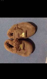 Baby brown boots for 2months and above