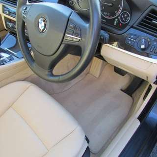 Bmw original velour mats for 5 series