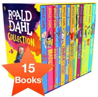 [CHEAPEST] Roald Dahl Collection (15 books)