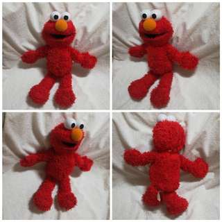 Vintage Fisher Price Elmo Knows Your Name Talking Plush Toy
