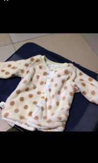 Baby reversible jacket