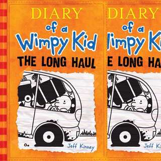 Diary of a wimpy kid The Long Haul by Jeff Kinney