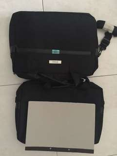Black Laptop bags with strap  Unused 2 for $8