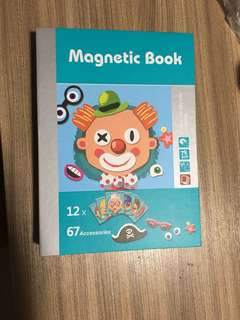 Fun and Interesting Children Magnetic Book