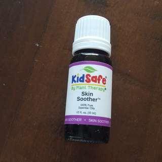 Essential Oil plant therapy kids safe - skin soother